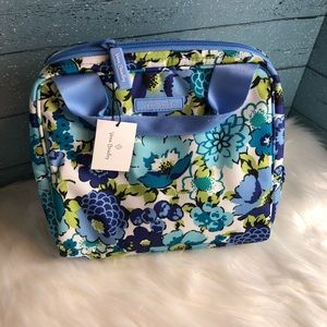 Vera Bradley Lunch Cooler in Blueberry Blooms